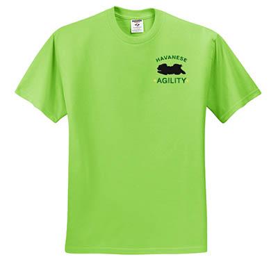 Havanese Agility Tshirts