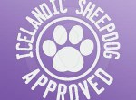 Icelandic Sheepdog Window Stickers