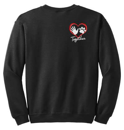 Dog Lover Embroidered Sweatshirt