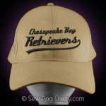 Embroidered Chesapeake Bay Retriever Hat