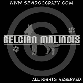 Embroidered Malinois Shirts