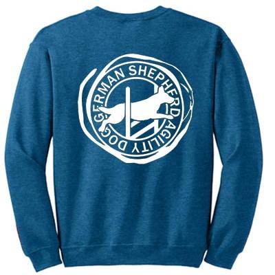 German Shepherd Agility Sweatshirt