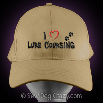 I Love Lure Coursing Hat