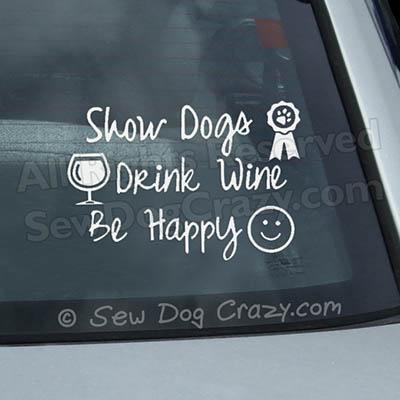 Dog Show Decals