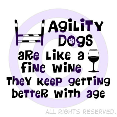 Old Agility Dogs Shirt