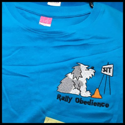 Old English Sheepdog Rallyo Shirt