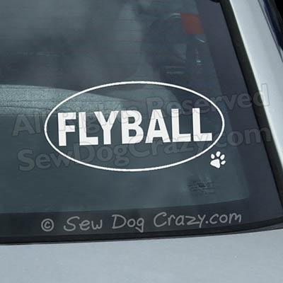 Flyball Car Window Sticker
