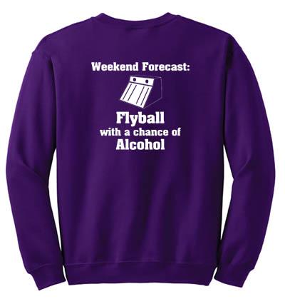 Funny Flyball Sweatshirt
