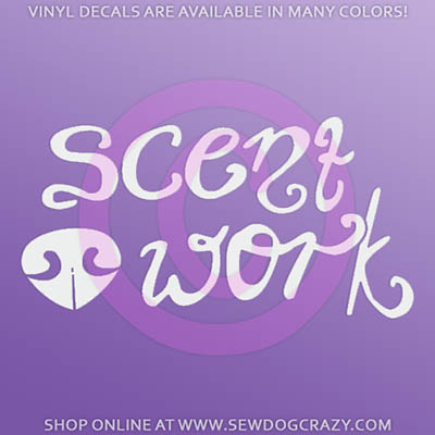 Scent Work Decals