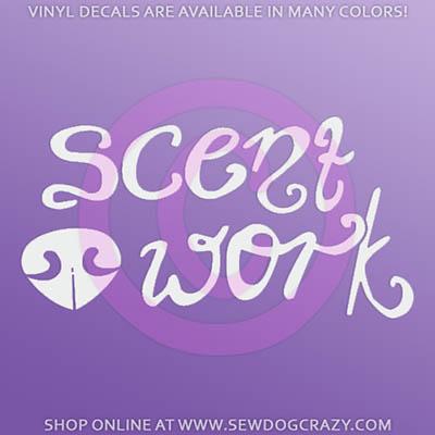 Scent Work Decals