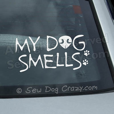 Funny Nose Work Car Window Sticker