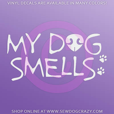 Funny Scent Work Sticker