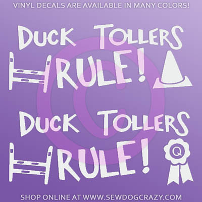 Nova Scotia Duck Tolling Retriever Decal