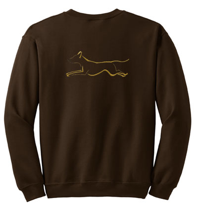 Embroidered Ridgeback Sweatshirt