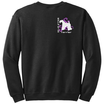 Embroidered Kerry Blue Terrier Sweatshirt