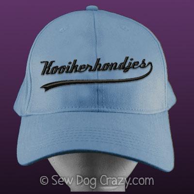 Embroidered Kooikerhondje Hat