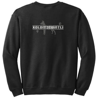 Xoloitzcuintli Embroidered Sweatshirt