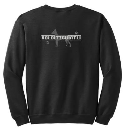 Xoloitzcuintli Embroidered Sweatshirt