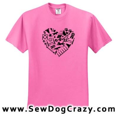 Love Dog Agility Tees