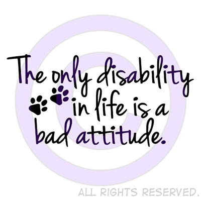Disabled Dogs Shirts