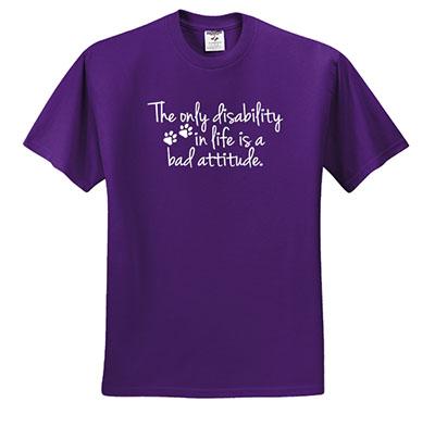 Disabled Dog T-Shirts