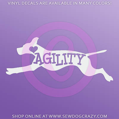 Pointer Agility Car Stickers