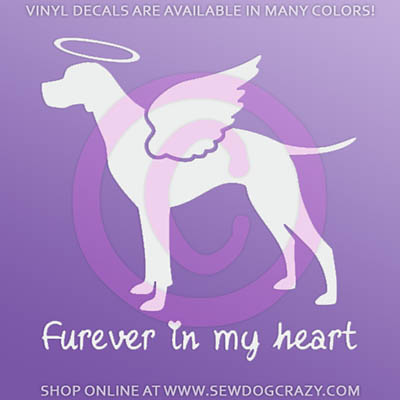 Custom Angel Pointer Car Sticker