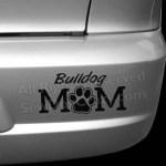 Bulldog Mom Car Stickers