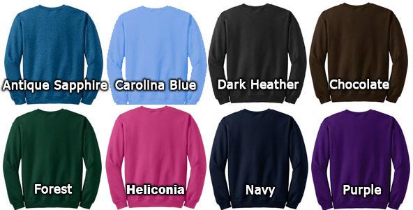 Gildan Sweatshirt Colors