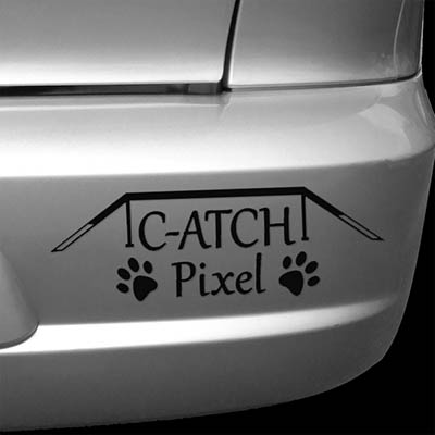 Custom Dog Agility Car Sticker