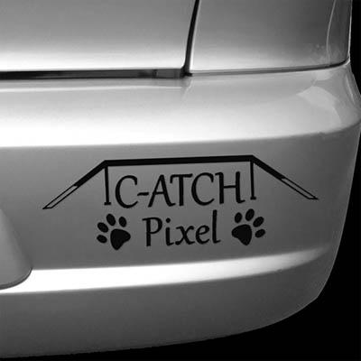 Custom Dog Agility Car Sticker