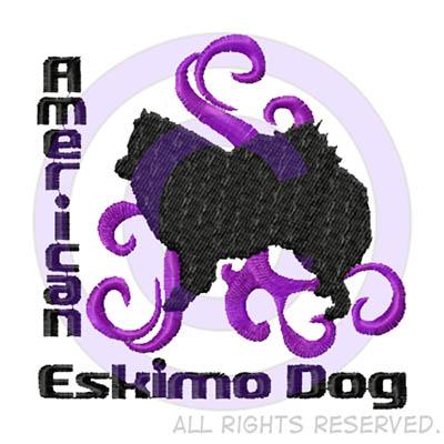 Embroidered American Eskimo Dog Shirts