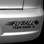 Custom Flyball car stickers