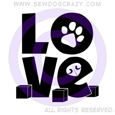 Scent Work Love Shirts