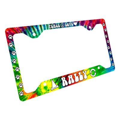 Rally Obedience License Plate Frame