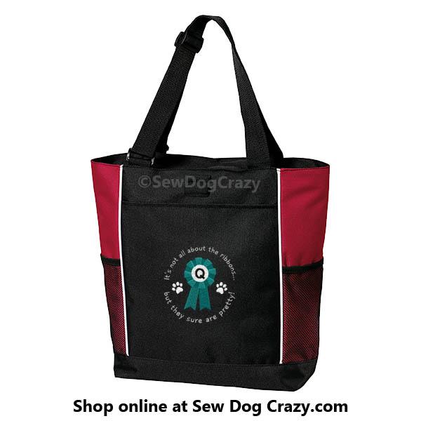 Q ribbon Tote Bag