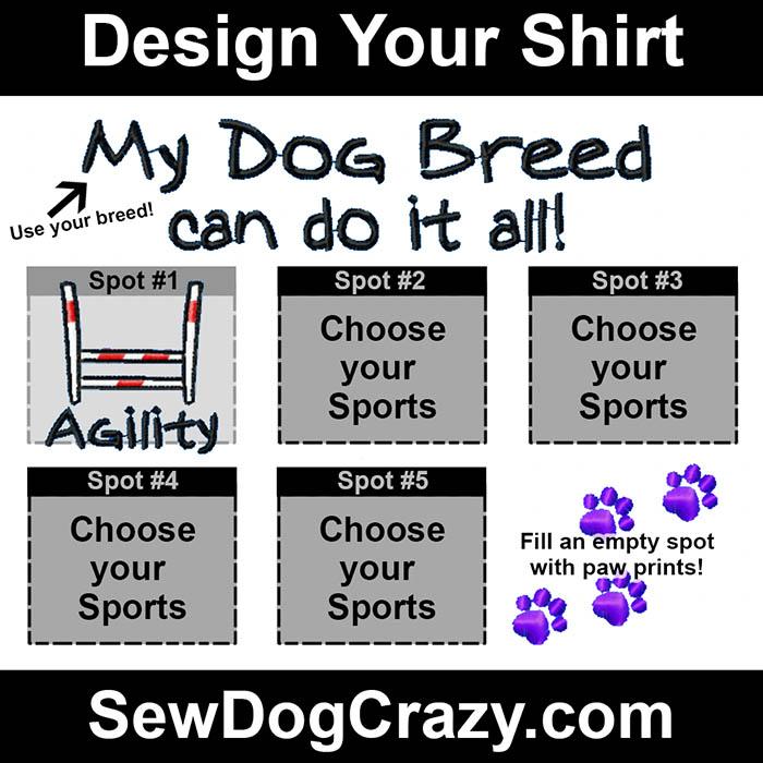 Personalized Dog Breed Shirt