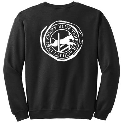 Kerry Blue Terrier Agility Sweatshirt