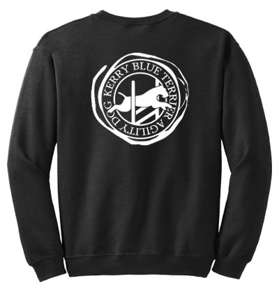 Kerry Blue Terrier Agility Sweatshirt