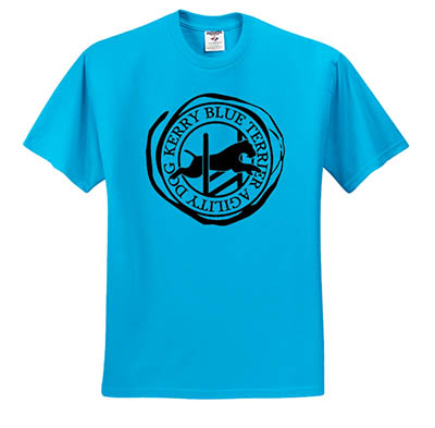 Kerry Blue Terrier Agility TShirt