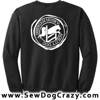 Agility Siberian Husky Sweatshirt