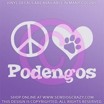 Portuguese Podengo Decals
