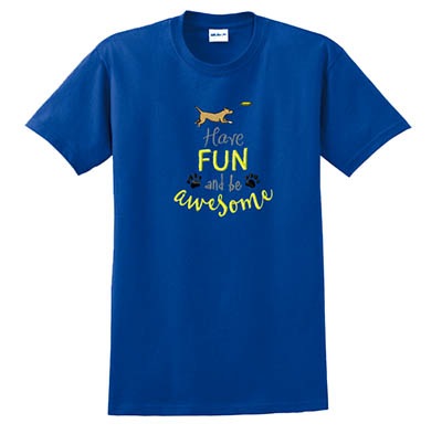 Fun Disc Dog TShirt