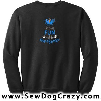 Embroidered Dock Diving Sweatshirt