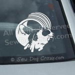Agility Border Collie Car Window Stickers