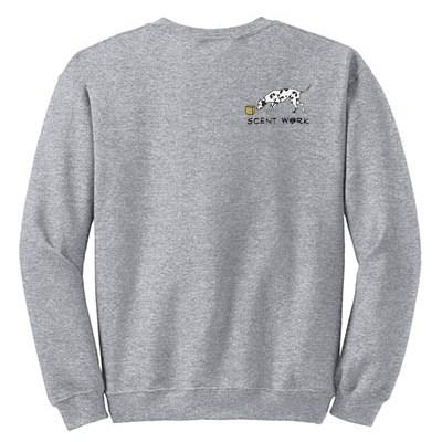 Dalmatian Nose Work Sweatshirt