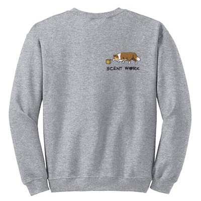 Sheltie Scent Work Sweatshirt