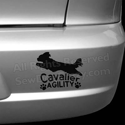 Cavalier Agility Bumper Stickers