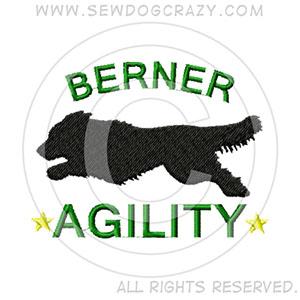 Bernese Mountain Dog Agility Shirts