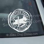 Scottish Terrier Agility Car Stickers